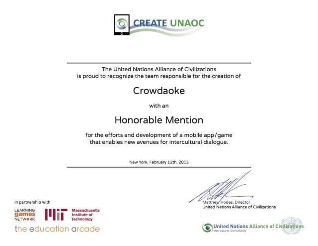 CreateUNAOC_Certificate_Crowdaoke