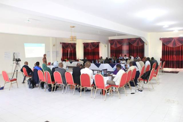 Polling and technology workshop in Hargeisa (February 2014)