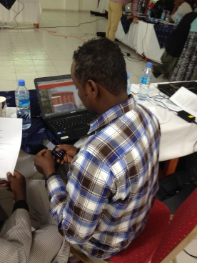 Testing the Elva platform in Hargeisa (February 2014)